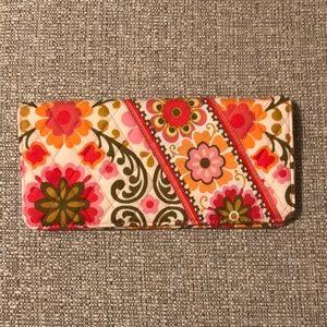 Vera Bradley travel wallet